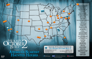 Haunt Map from The Houses October Built 2 Movie